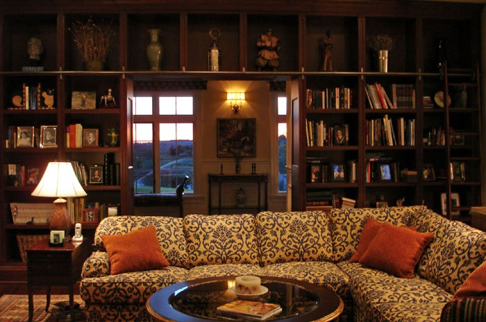 Country Estate Family Room