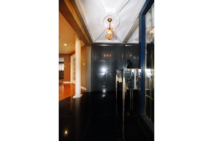 Art Deco Foyer Inside Closet