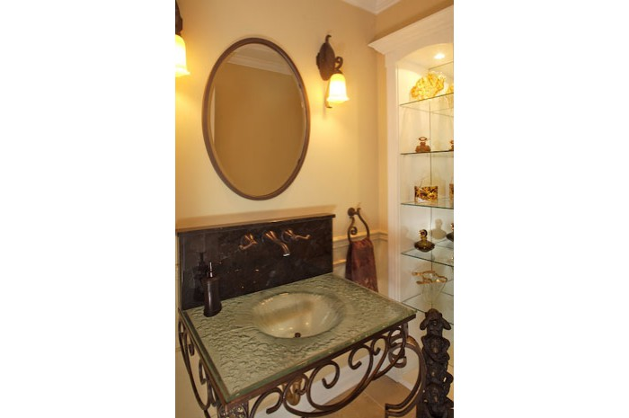 Classic Traditional Powder Room